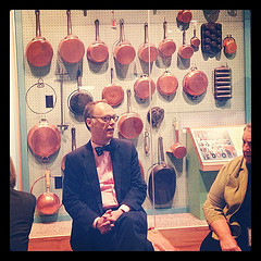 Chris Kimball of Cook's Illustrated at the American Museum of Natural History. (CC licensed.)